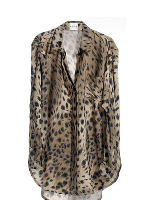 <p>Reiss sheer blouse, £110, call 0207 473 9630 for stockists</p>