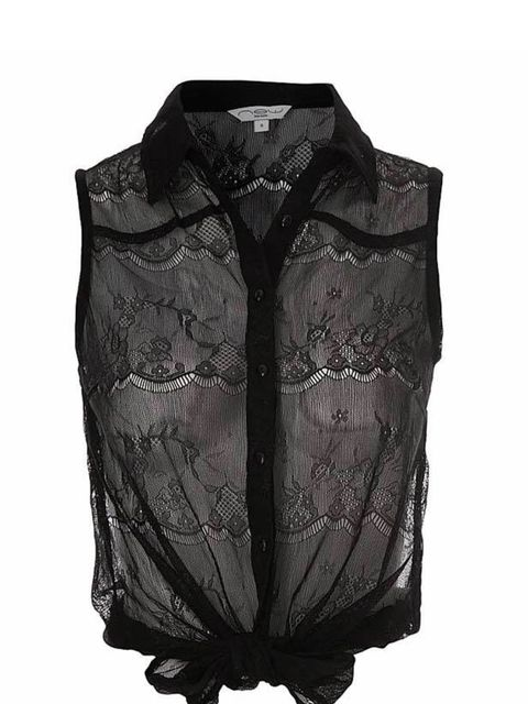 <p>New Look blouse, £19.99, (0500 454 094)</p>