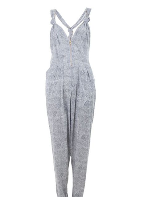 "<p>Patterned jumpsuit, £234, by Stine Goya at <a href=""http://www.farfetch.com/shopping/women/search/schid-7374696e6520676f7961/items.aspx"">Farfetch</a> </p>"