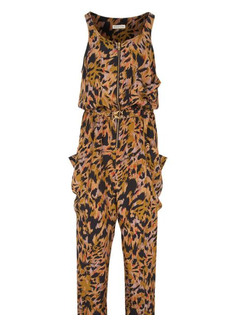 <p>Animal print jumpsuit, £160, by Whistles (0845 899 1222)</p>