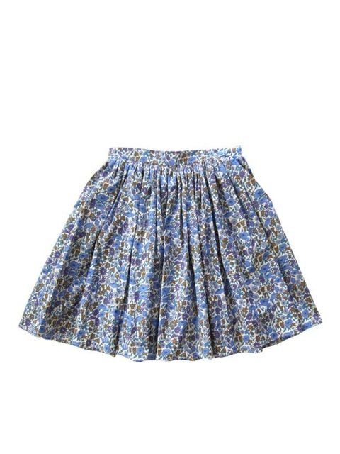"<p>High waisted Liberty print skirt, £90, by <a href=""http://www.nadinoo.com/product/lulas-trirly-skirt"">Nadinoo</a></p>"