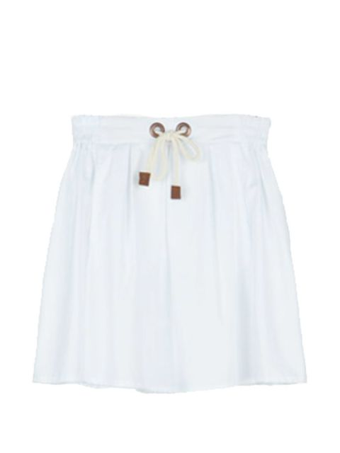 <p>Cotton skater skirt with rope drawstring, £19.99, by Zara (0207 534 9500)</p>