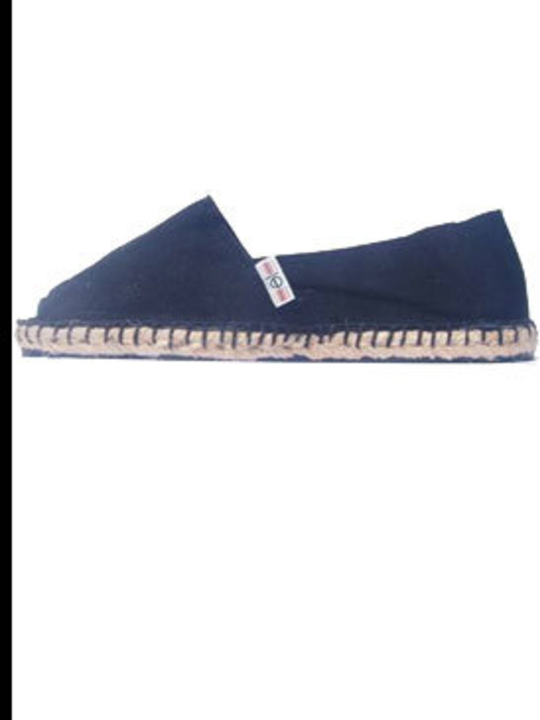 "<p>Blue espadrilles, £20, by <a href=""http://www.loveespadrilles.com/espadrilles/gau.html"">Love</a></p>"