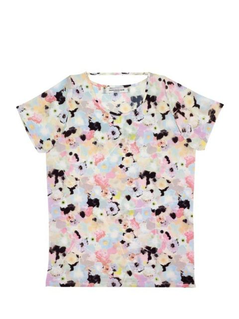 <p>Floral print T-shirt, £68, by Something Else at Urban Outfitters (0203 219 1944)</p>