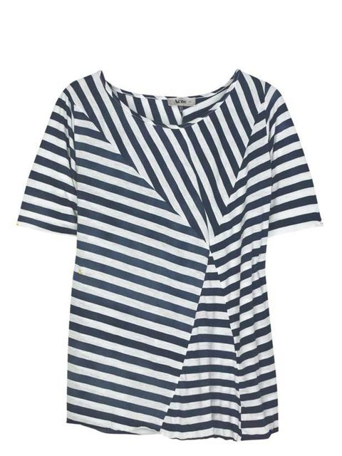 "<p>Abstract stripe T-shirt, £75, by Acne at <a href=""http://www.net-a-porter.com/product/63032"">Net-a-Porter </a></p>"