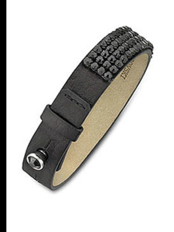 "<p>Golf bracelet, £95, by <a href=""http://www.swarovski.com/Web_GB/en/976012/product/Golf_Bracelet.html"">Swarovski</a></p>"
