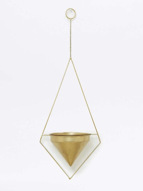 "<p>Hanging planter, £18, <a href=""http://www.urbanoutfitters.com/uk/catalog/productdetail.jsp?id=5559088370140&category=TERRARIUMS-GARDEN-EU"" target=""_blank"">Urban Outfitters</a></p>"