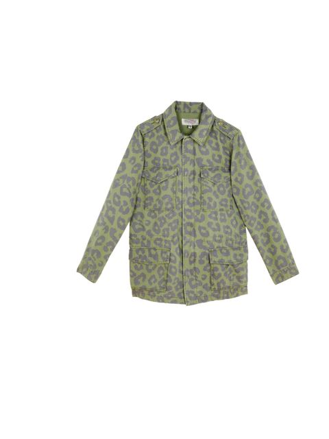 """<p><a href=""""http://www.urbanoutfitters.co.uk/"""">Urban Outfitters</a> camouflage army jacket, £75</p>"""