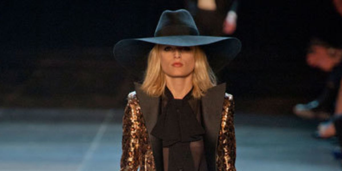 5dcdf74e Introducing Hedi Slimane's first collection for Saint Laurent Paris | ELLE  UK