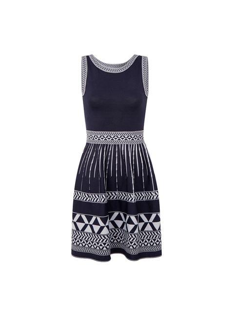 "<p><a href=""https://uk.maje.com/en/collection/dresses/riviera/E15RIVIERA.html?dwvar_E15RIVIERA_color=0580#sz=96&start=87"">Maje</a> dress, £146</p>"
