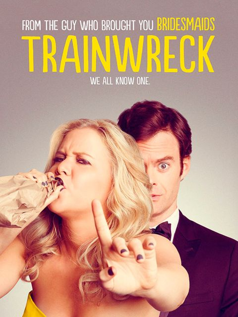 <p>FILM: Trainwreck</p>  <p>OK, bear with us on this one: this new Judd Apatow-directed film follows the misadventures of a commitment-phobe revelling in one-night stands and dodging cosy domesticity at all costs. So far, so Knocked Up/Get Him To The Gree