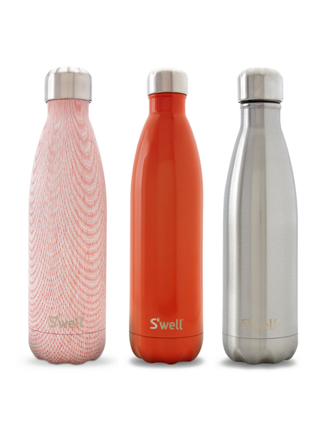 """<p><strong>S&#39;well</strong></p>  <p>Made of non-leaching, non-toxic stainless steel, S&#39;well keeps it&#39;s contents cold for 24 hours. Added bonus: it keeps stuff hot, too</p>  <p>S&#39;well 500ml, &pound;29.95</p>  <p><a href=""""http://www.homearama"""