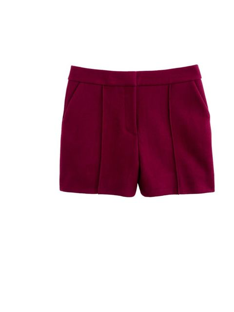 <p>Too cute for words, pair with the matching jacket or go for a chunky knit and crombie jacket for tailoring with a twist</p><p>J Crew shorts, £148</p>