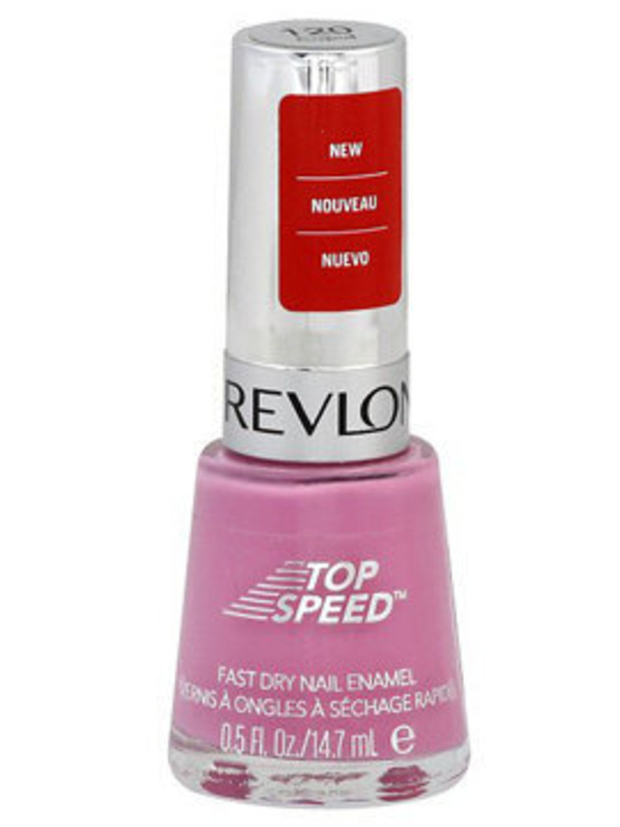 <p>Revlon Top Speed Nail Lacquer in Cupid.</p>