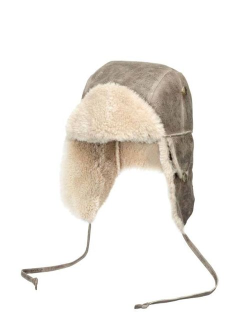 <p>Comptoir des Cotonniers shearling and suede trapper hta, £78, for stockists call 0207 792 9580</p>