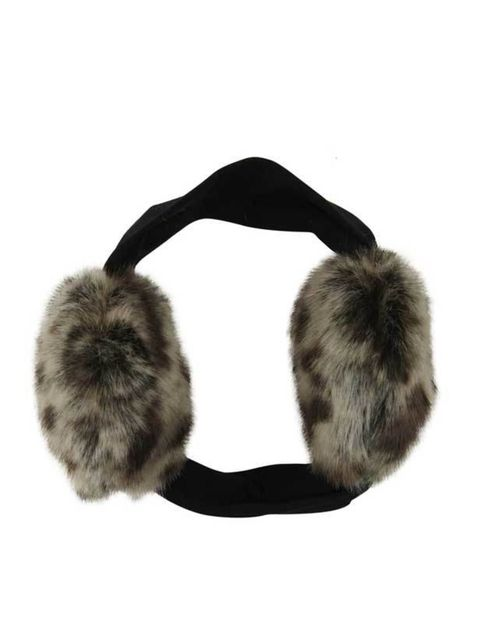 "<p>Blanche in the Brambles animal print earmuffs, £40, at <a href=""http://www.liberty.co.uk/fcp/product/Liberty/Blanche-in-the-Brambles/Animal-Print-Brown-Faux-Fur-Earmuffs,-Blanche-In-The-Brambles/57127"">Liberty</a></p>"
