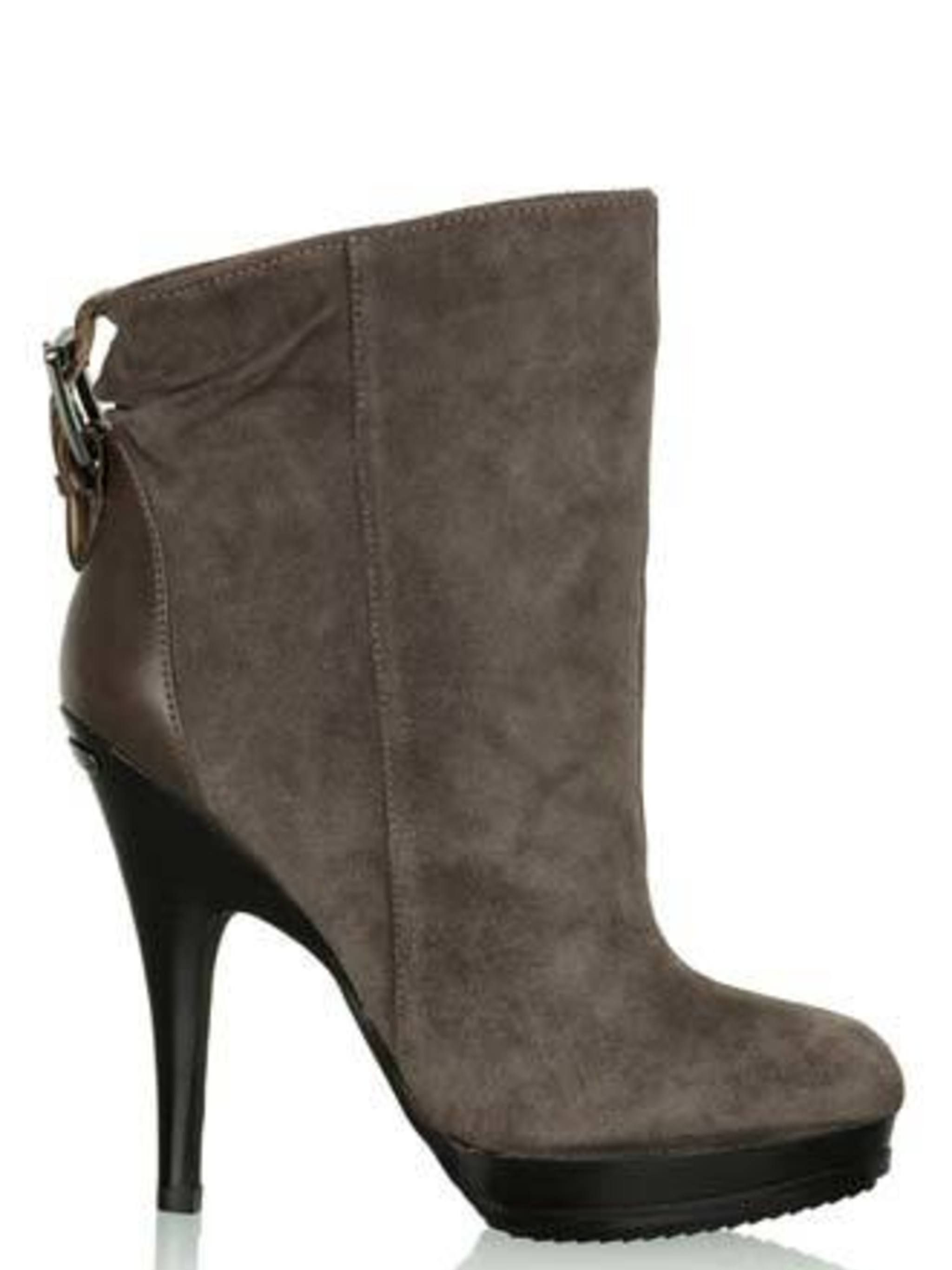 "<p>There was a collective 'ooh' when we spotted these boots. Pair with jeans and a chunky knit to get that 'casual, luxe' look just right.</p><p>Suede Boots, £190 by Michael by Michael Kors at <a href=""http://www.my-wardrobe.com/michael-by-michael-kors/gr"