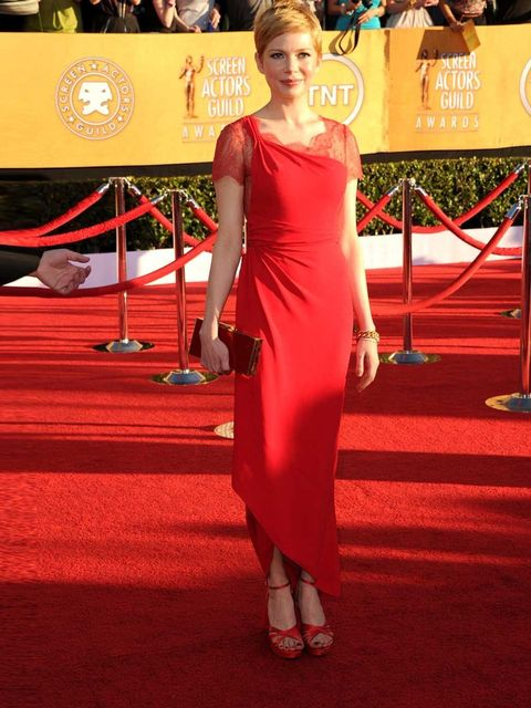 """<p><a href=""""http://www.elleuk.com/elle-tv/cover-stars/elle-magazine/behind-the-cover-michelle-williams"""">ELLE cover star</a> and <a href=""""http://www.elleuk.com/star-style/news/the-golden-globes-2012-red-carpet-trends"""">Golden Globes</a> winner <a href=""""http"""