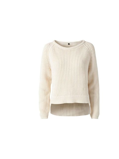 "<p>Fashion Assistant Sarah Bonser will wear this cream chunky knit with leather shorts - perfect for summer evenings.</p><p>Issue 1.3 sweater, £39.95 at <a href=""http://nelly.com/uk/womens-fashion/clothing/jumpers-cardigans/issue-13-2260/lou-sweater-10137"