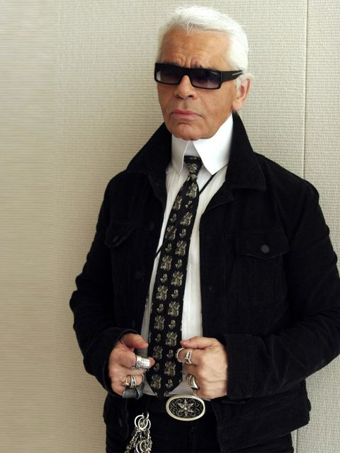 """<p>'My autobiography? I don't have to write it. I'm living it.'</p><p>Karl Lagerfeld, pictured in 2004.</p><p><a href=""""http://www.amazon.co.uk/World-According-Karl-Wisdom-Lagerfeld/dp/0500517118/ref=sr_1_1?s=books&amp;ie=UTF8&amp;qid=1379674268&amp;sr=1-1"""