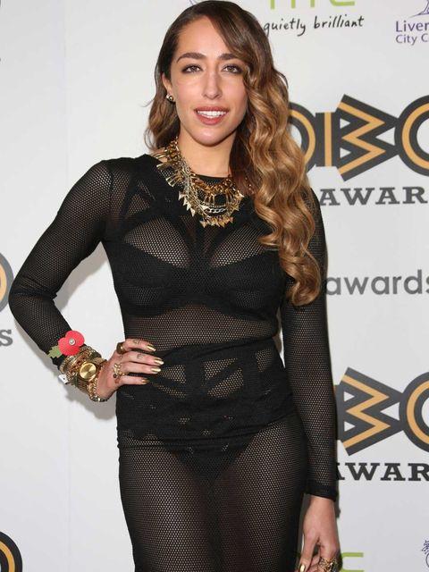 <p>Delilah at the 2012 MOBO Awards</p>