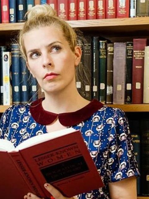 <p>COMEDY: Sara Pascoe's Literary Salon</p>  <p>Ah, the classic literary salon, where one dons one's thick-rimmed glasses and sits very demurely discussing very dusty books with other very demure souls… Well, you can forget all that right now. (Except may