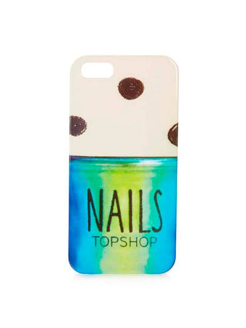"<p>Take that nail varnish obsession a step further.. </p><p>Nail Varnish iPhone 5 shell £8 from <a href=""http://www.topshop.com/en/tsuk/product/bags-accessories-1702216/bags-purses-462/phone-tablet-cases-763/nail-varnish-iphone-5-shell-2536630?refinements"