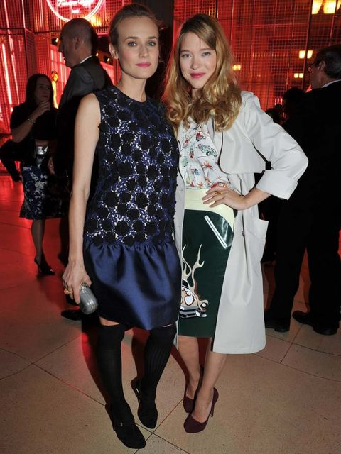 <p>Diane Kruger and Lea Seydoux</p>