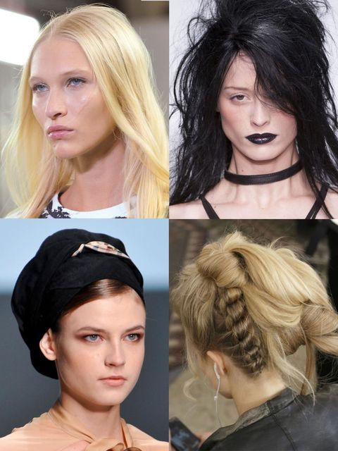 """<p>From the wonderfully whacky to the easily covetable, London's <a href=""""http://www.elleuk.com/catwalk"""">Spring Summer 14 catwalk</a> featured hair from both ends of the spectrum (and lots in-between); freshly washed is s"""