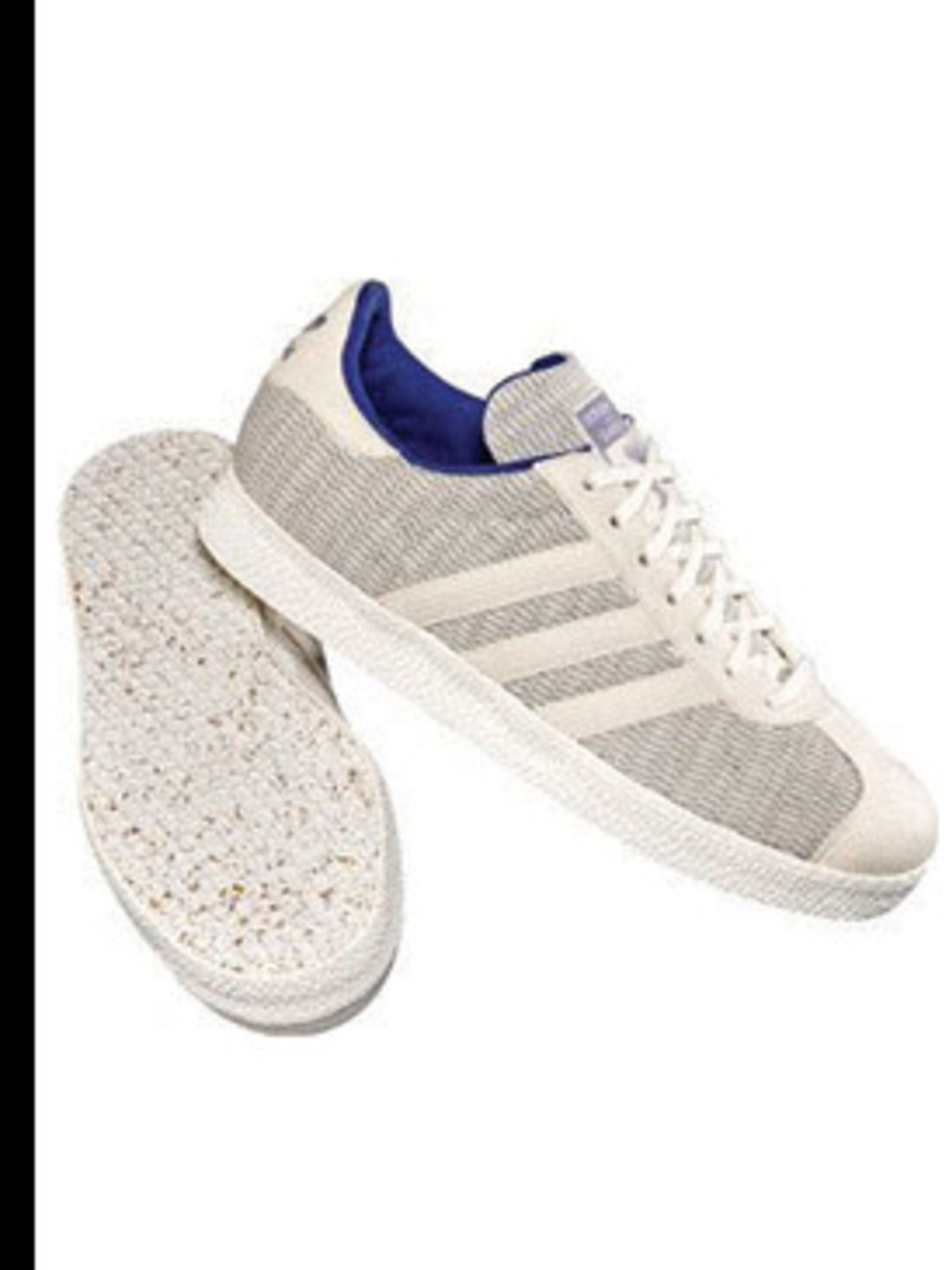 <p>Adidas Gazelle Trainer, £50 from the Grun Collection. 0870 240 4204</p>