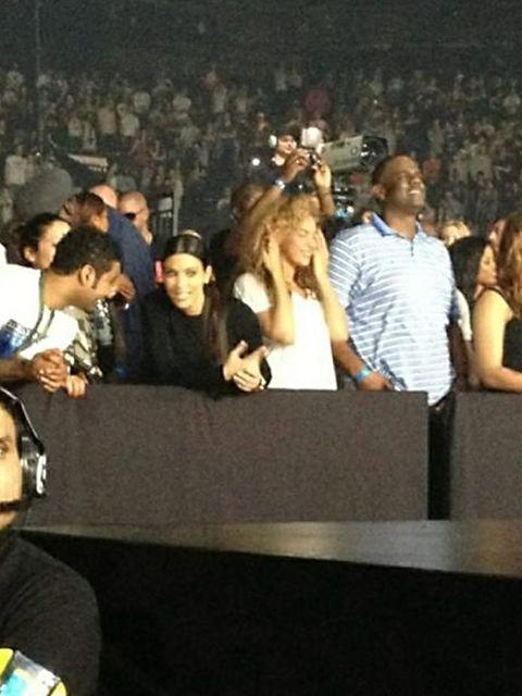 """<p><a href=""""http://www.elleuk.com/star-style/celebrity-style-files/kim-kardashian"""">Kim Kardashian</a> & <a href=""""http://www.elleuk.com/star-style/celebrity-style-files/beyonce"""">Beyonce</a> watch Jay-Z and <a href=""""http://www.elleuk.com/catwalk/designe"""