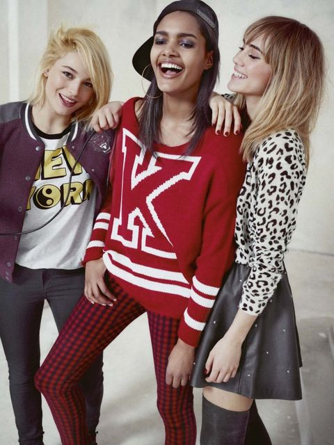 <p>Suki Waterhouse for H&amp;M Divided</p>
