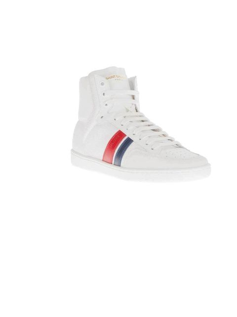 "<p>Comfort is key and Saint Laurent's hi-top lace-ups are super cool.</p><p>Saint Laurent trainer, £431, at <a href=""http://www.farfetch.com/shopping/women/saint-laurent-lace-up-hi-top-trainer-item-10552893.aspx?storeid=9017"">Farfetch</a></p>"