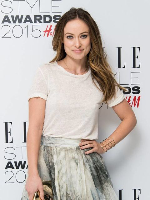 Olivia Wilde at the ELLE Style Awards 2015.