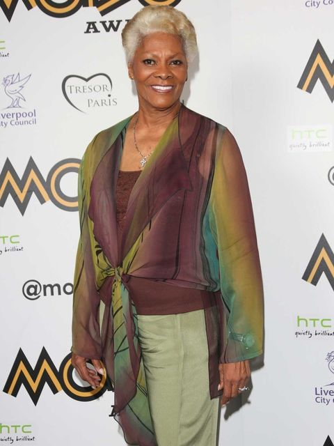 <p>Dionne Warwick at the 2012 MOBO Awards</p>