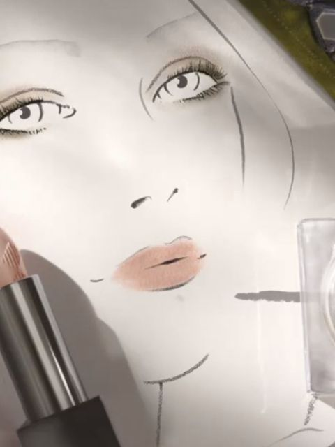 <p>Burberry (@burberry)</p>  <p>'Creating the #Burberry A/W15 make-up look, unveiled tomorrow at 1pm London time #LFW'</p>