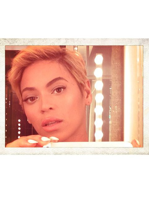 <p>Beyoncé's shock new short style</p>