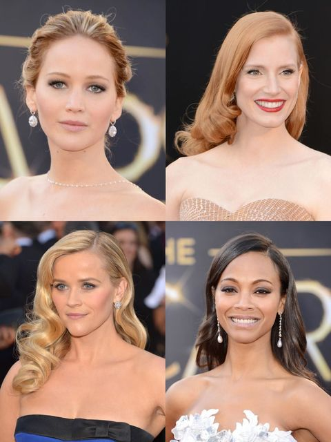 <p>All the while we're pouring over every minute detail of every highly anticipated dress, or wishing the speeches would wrap up a teeny bit sooner, the red carpet hair and makeup is quietly making its own waves across the globe. This year saw some seriou