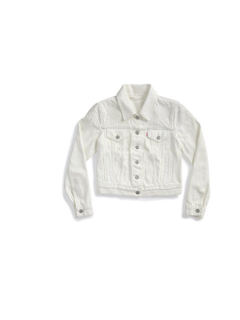 "<p><a href=""http://www.levi.com/GB/en_GB/women-clothing-jackets-vests/p/707350001"">Levi's</a> white denim jacket, £110</p>"
