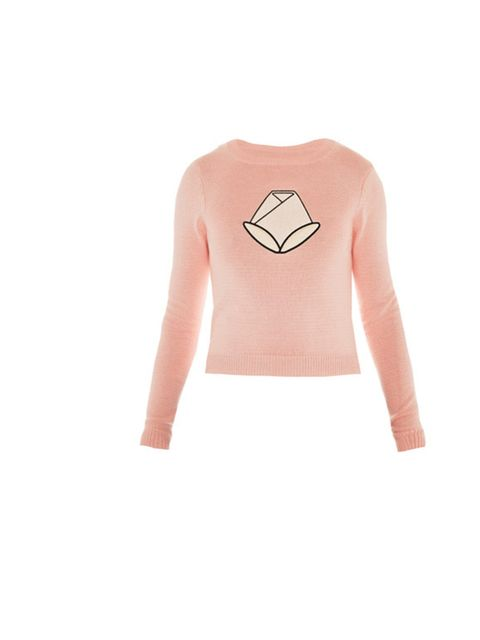 "<p>Reflect the change in seasons by swapping your dark cashmeres in favour of lighter, pastel knits... Opening Ceremony tulip sweater, £165, at Matches</p><p><a href=""http://shopping.elleuk.com/browse?fts=opening+ceremony+tulip+sweater"">BUY NOW</a></p>"