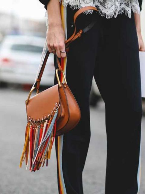 <p>The New Hippy – </p>  <p>Chloé's rainbow tassel bags injected some fun and colour outside of the shows this season. One for the free spirited, this bag should be mixed in with florals and retro sportswear. </p>
