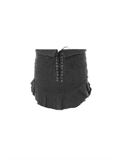 <p>Brace yourself, it is time to ditch those tights (at least for the moment) and show off your legs. This skirt from Isabel Marant is the perfect choice. If you are going to do it, you better do it right!</p><p>Isabel Marant skirt, £485 available at <a h