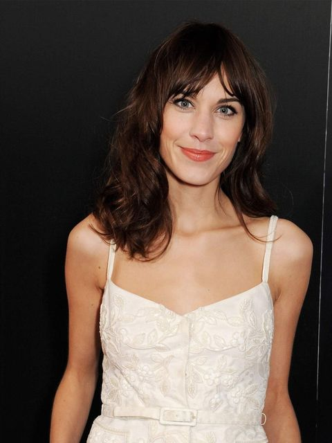 "<p><a href=""http://www.elleuk.com/star-style/celebrity-style-files/alexa-chung-s-style-file"">Alexa Chung</a> looks ready for spring with her pretty, effortless make-up look and natural, wavy hair. </p>"