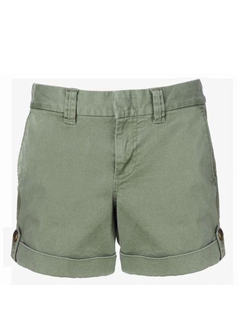 <p>Khaki cotton shorts, £39.50, by Banana Republic (0207 758 3550)</p>