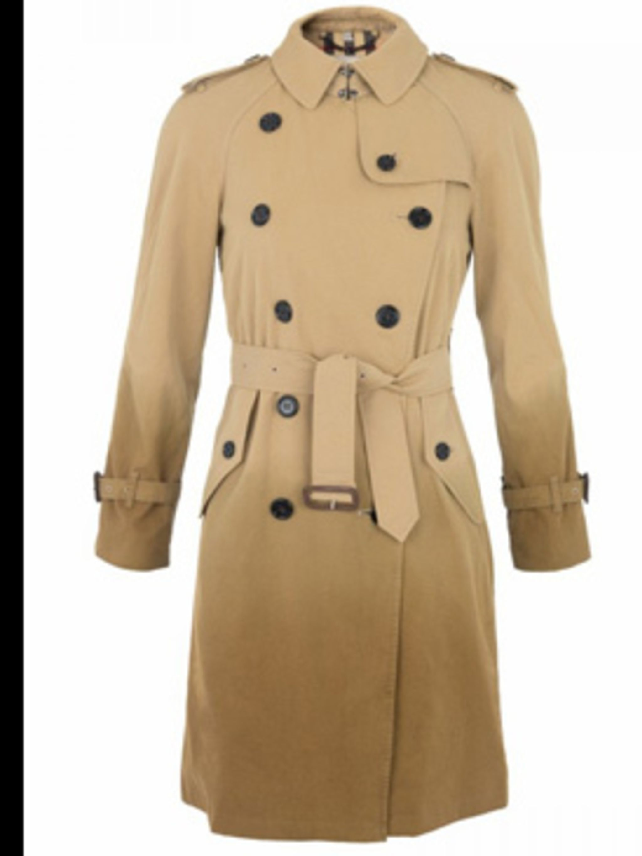 <p>Trench, £1,195.00 by Burberry. For stockists call Requested price07000 785 676</p>