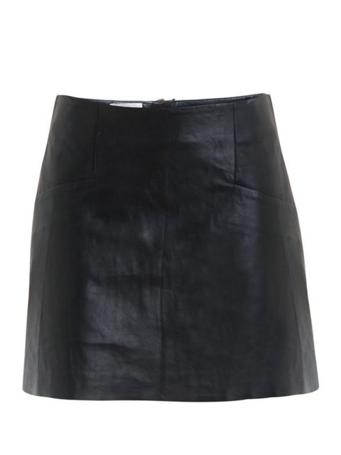"<p>Acne leather a-line skirt, £468.00, available at<a href=""http://www.matchesfashion.com/fcp/product/Matches-Fashion//acne-ACNE-Y-DALI-LEATHER-skirts-BLACK/39192""> matches </a></p>"