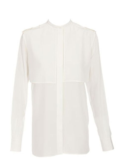 "<p>Celine panelled blouse, £785.00, available at <a href=""http://www.brownsfashion.com/product/012918520003.htm?siteid=Hy3bqNL2jtQ-.rQfaNpkioI6Rmu7mf189A"">Browns</a></p>"
