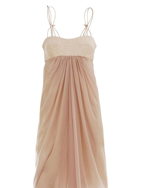 "<p>Nude silk dress, £498, by Max Mara at <a href=""http://www.matchesfashion.com/fcp/product/Matches-Fashion//maxmara-PF-X-AVON-dresses-NUDE/38087"">Matches</a></p>"