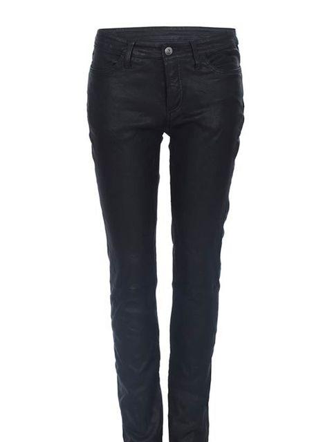 """<p><a href=""""http://www.allsaints.com/women"""">All Saints</a> leather trousers, £295</p>"""