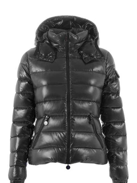 "<p>Black padded coat, £479.50, by Moncler at <a href=""http://www.start-london.com/shop/feather%20down%20filled%20coat-p-376.html"">Start</a> </p>"